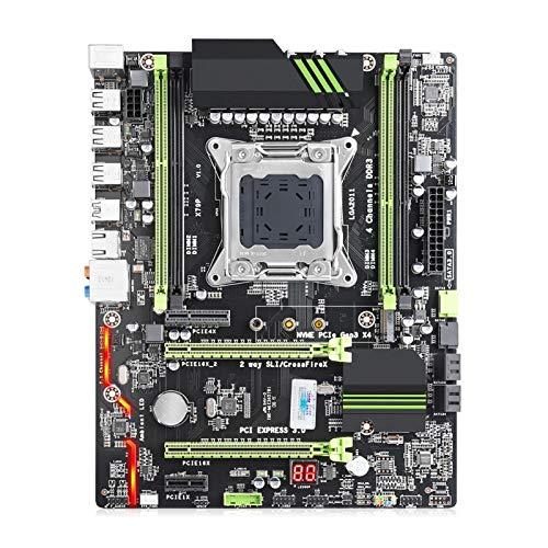 Placa Base Gaming ATX Placa Madre del Ordenador Placa Base X79 Conjunto...