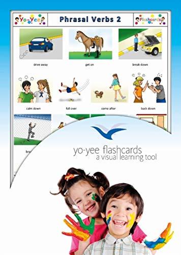 Yo-Yee Flashcards Cartes Images pour l'Encouragement linguistique - Verbes à Particule 2 - pour l'enseignement de l'Anglais à la garderie, au Jardin d'Enfants et à l'école Primaire