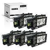 COCADEEX Caja de mantenimiento de tinta de repuesto para T2950 y E-PXMB5, funciona con Workforce WF-100 WF-100 W WF100 WF100W impresora de inyección de tinta (5)