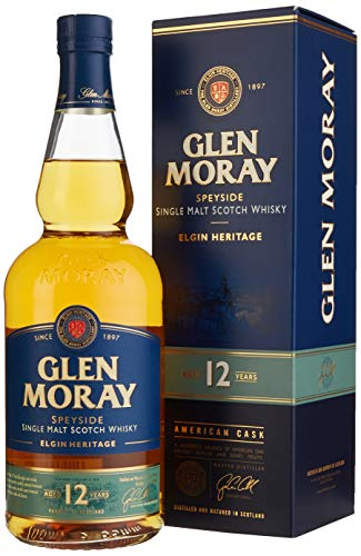 Glen Moray Single Malt Whisky, Elgin Heritage, 12yrs (1 x 0.7 l)