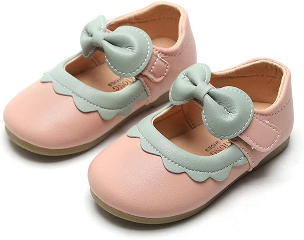 N P Colorado Springs Mall Joeupin Girls Mary Jane Bal Classic School Dress Shoes Party Bowknot