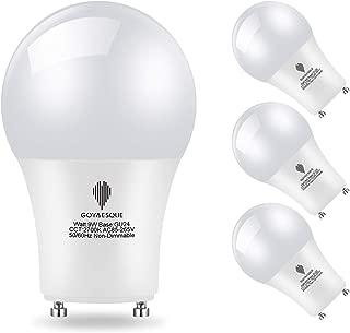 Goyaesque GU24 9W LED Light Bulb,Ceiling Fan,2700K Warm White 900 Lumens,GU24 Twist Lock Base Replacing CFL Ceiling Light, Non Dimmable, Pack of 4. (2700K) …