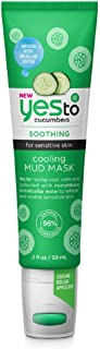 Yes To Cucumbers Cooling Mud Mask, 2 Ounce