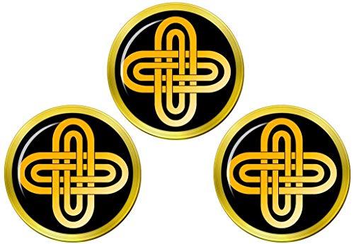 Giftshop UK King Solomon's Cross Golfball Markierer
