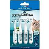 Francodex – Pipetas calmantes y repelentes para Gatos – 4 x 1 ml