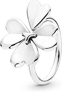 d76c9f5eb PANDORA Moving Clover 925 Sterling Silver Ring - 197949