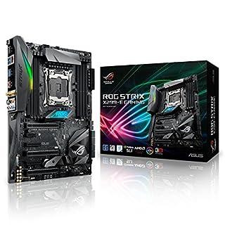 Asus ROG Strix X299-E Gaming Mainboard Sockel LGA 2066 (ATX, Intel, Aura Sync, DDR4 4133 MHz, Dual M.2, SATA 6Gb/s) (B072V52HWY) | Amazon price tracker / tracking, Amazon price history charts, Amazon price watches, Amazon price drop alerts