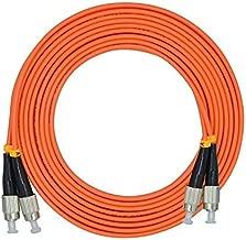 LC/SC/FC/ST 50/125 Duplex Multimode 3.0mm Fiber Optic Patch Cable (15m, FC-FC)