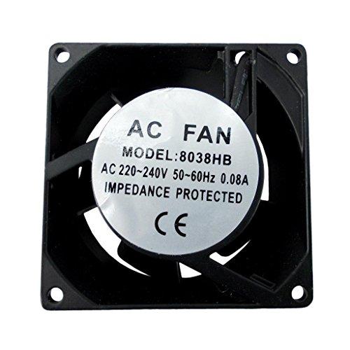 Airtech Axial Ofen Kühlschrank Gefrierschrank Kühlung Fan Motor, 80X80X38