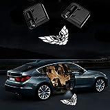 2Pcs for Car Door Logo Projector Lights,LED Ghost Shadow Emblems Wireless Door Logo Shadow Ghost Lights For (Pontiac Firebird)