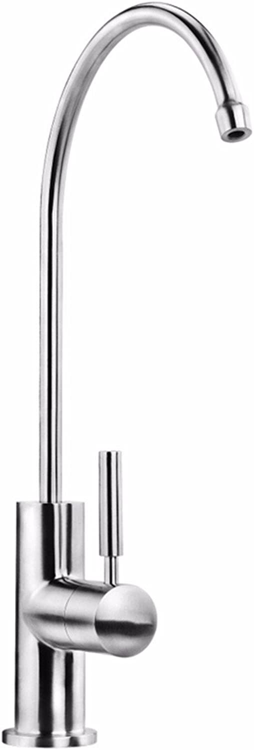 Hlluya Professional Sink Mixer Tap Kitchen Faucet 304 stainless steel water faucet water faucet until water faucet water faucet single cold water purifier is applicable
