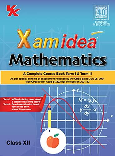 Xam Idea Mathematics -Class 12 - CBSE (2021-22) (English Edition)