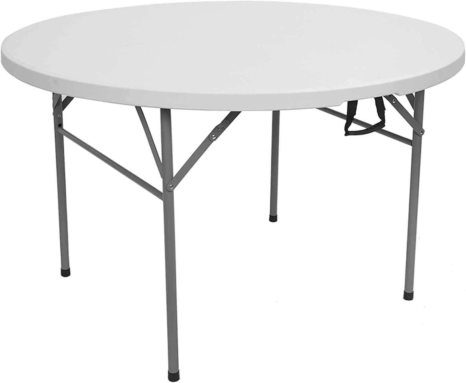 Ranking TOP2 HDHUIXS Compactly 48inch Round Outdoor Table Charlotte Mall Folding Uti