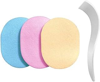 Viffly 専用ヘラ スポンジ 洗って使える 3色セット 除毛クリーム専用 メンズ レディース【除毛用】