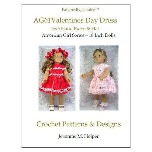 6462bc1dd American Girl Valentines Day Dress Crochet Pattern (Patterns by ...