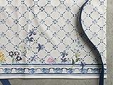 Maison d' Hermine Faïence 100% Baumwolle 1-teilige Küchenschürze mit verstellbarem Hals und versteckter Mitteltasche, Langen Krawatten für Frauen/Männer | Küchenchef | Kochen(70cm x 85cm) - 2