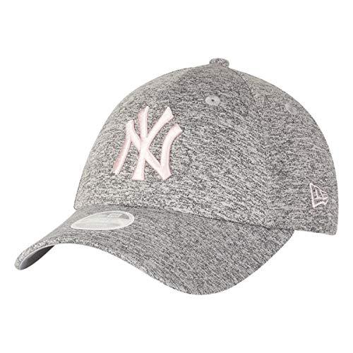 New Era Damen Damen Kappe 9Forty New York Yankees Kappe, Grey, One Size, 80489231