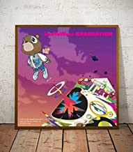 Kanye West Graduation Album Limited Poster Artwork - Professional Wall Art Merchandise (More Sizes Available) (12x12)