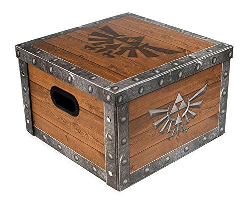 The Legend of Zelda - Treasure Chest - Aufbewahrungsbox mit Deckel - 36,7x36,7x23,8 cm