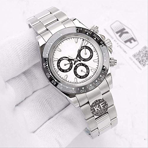 LKYH Klassische Armbanduhr Marke Saphirglas Sport Designer Herrenuhr Mechanische Automatikwerk Uhren Schwarze Kaffeelünette Armbanduhr9