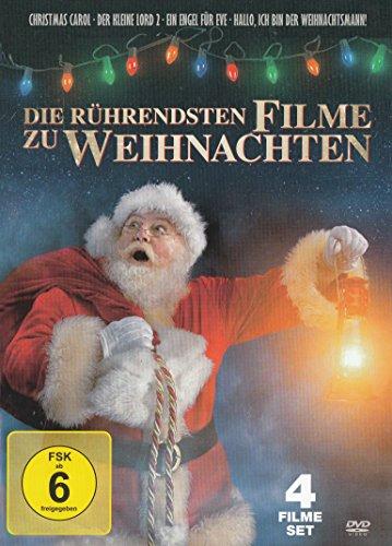 Die rührendsten Filme zu Weihnachten : A Christmas Carol (Die Nacht vor Weihnachten) - Der kleine Lord 2 - Ein Engel für Eve - Hallo, ich bin der Weihnachtsmann