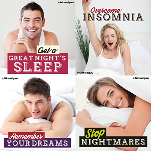Soothing Sleep Subliminal Messages Bundle audiobook cover art
