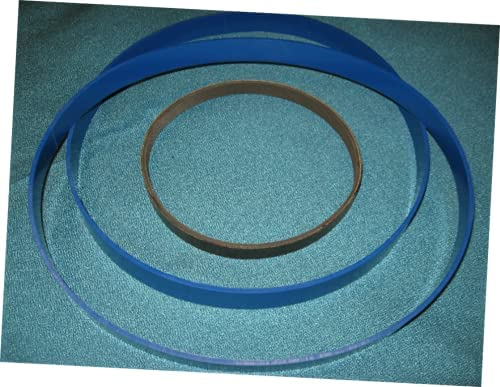 1 Set Replacement Urethane Band Saw and Drive Belt Compatible wi