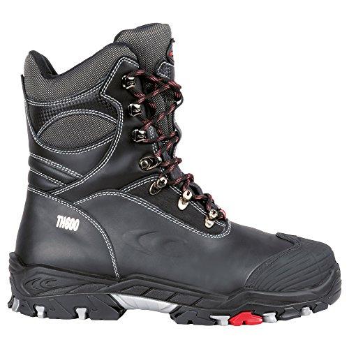 Cofra Winter Sicherheitsstiefel S3 Bering BIS 25312-001, warm gefütterte, isolierte Arbeitsstiefel, Größe 40, schwarz, 25312-001