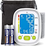 Greater Goods Digital Wrist Blood Pressure Monitor | for Home or On-The-Go, Premium Cuff | Designed in St. Louis (Basic Wrist)