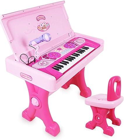 HXGL-piano Mesa de Aprendizaje para niños con Teclado y Piano ...