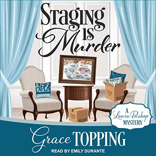 Staging Is Murder audiobook cover art