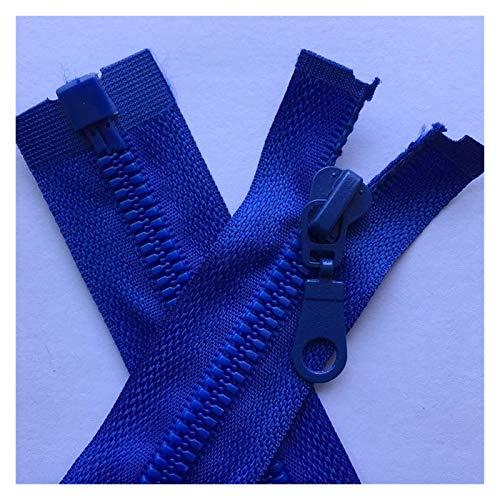 JINGGEGE Jengijo 3 Colores Piezas 5# Extremo Abierto de la Cremallera de la Cremallera de Resina por la Chaqueta de la Cremallera Abrigo Sportwear Ropa Accesorios Mix Negro Blanco