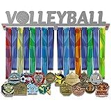 shangmaidianzi Color Plateado Acero Inoxidable, 2 Niveles Soporte para medallas