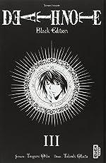 DEATH NOTE BLACK EDITION, tome 3 de Tsugumi Ohba