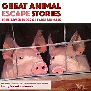 Great Animal Escape Stories audiobook cover art