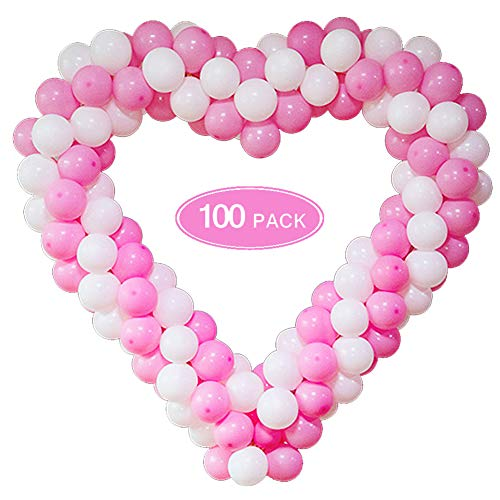 (50% OFF Deal) Pink & White Balloon Garland Arch Kit $5.50