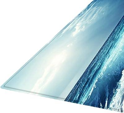 F Fityle Area Rug Pad for Hardwood & Hard Floors, Floor Rugs Runners Non Slip Carpet Decoration for Living Room Kitchen Entryway Bedroom Bathroom - Blue_1, 180x60cm