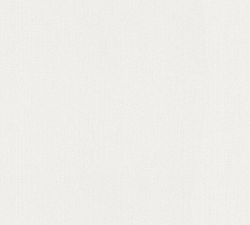 A.S. Création Vliestapete Simply White 4 Tapete 10,05 m x 0,53 m creme weiß Made in Germany 937902 93790-2