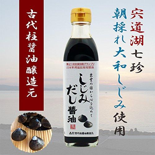 古代柱醤油醸造元『しじみだし醤油』