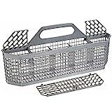 Abimy Universal Dishwasher Silverware Replacement Basket - Utensil/Cutlery Basket - Fits Bosch, Maytag, Kenmore, Whirlpool, KitchenAid, LG, Samsung, Frigidaire, GE
