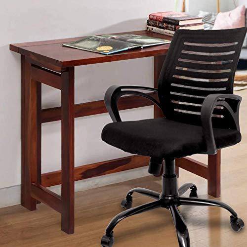 CELLBELL® C104 Medium-Back Mesh Office Chair [Black]