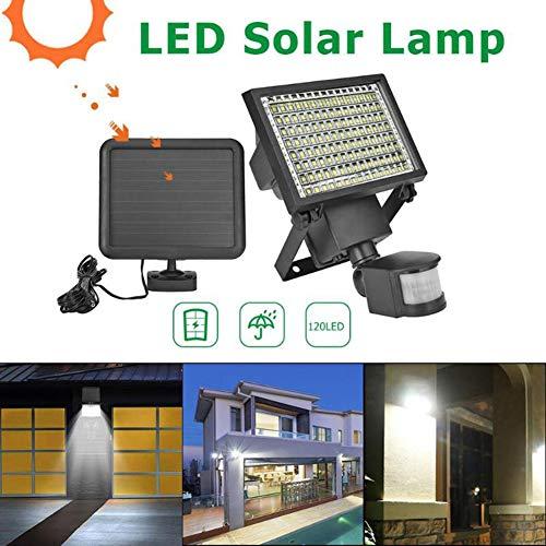 LAMP-XUE 120 LED zonnelicht Motion Sensor IP65 buitenspot veiligheid flood lamp solar-hof-lamp voor hek trappen Pathway Yard