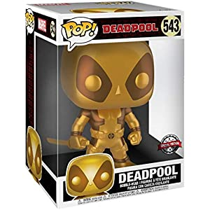 Funko Pop Deadpool Dorado – 25cm (Deadpool 543) Funko Pop Deadpool