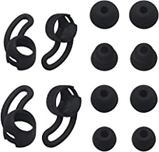 JNSA Replacement Wingtips & Eartips Set for BeatsX Beats X Headphones, Soft Wing Tips 2 Size 2 Pairs & Ear Tips 4 Size 4 P...