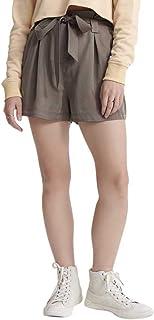 Superdry Desert Paper Bag Shorts Pantalones Cortos para Mujer