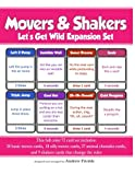 Movers & Shakers: Let's Get Wild Expansion Pack: Volume 4 (Movers & Shakers Brain Breaks Card Game)
