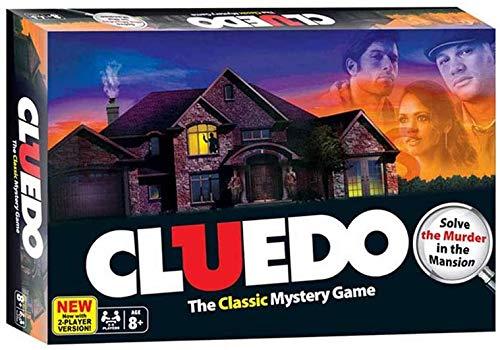 LINANNAN Gioco di Carte Cluedo Board Game Set Adulto Family Party Detective Game Entertainment Giocattoli esplorazione Ragionamento strategia intrattenimento