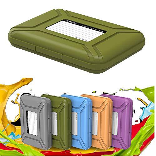 Turbobm 3,5-Zoll-Festplattenschutzhülle, Festplattenschutzbox/Aufbewahrungskoffer, staubdicht, antistatisch, stoßfest