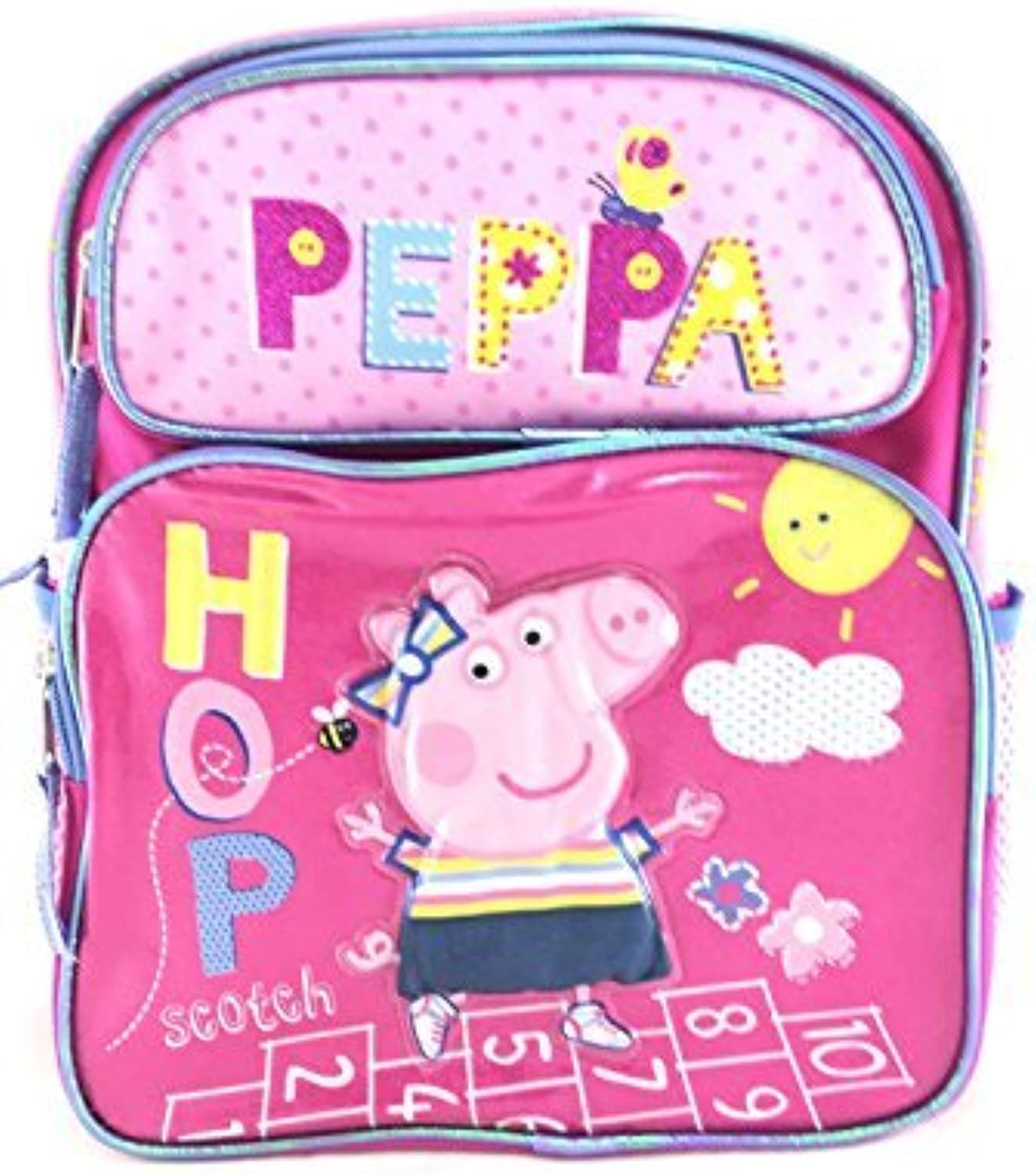 Backpack  Peppa Pig  Pig Shine 16  School Bag New 148274