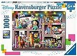 Ravensburger-10410 Disney Ravensburger-Puzzle de 100 Piezas Extra Grandes para niños de 6 años y más, Multicolor (10410)